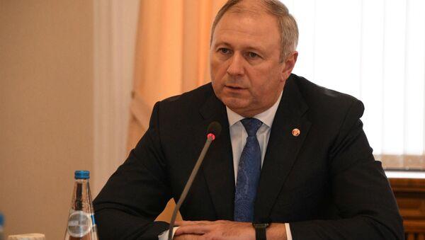 Прэм'ер-міністр Беларусі Сяргей Румас - Sputnik Беларусь