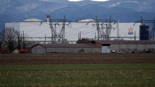 Старейшая во Франции атомная электростанция в Фессенхайме - Sputnik Беларусь