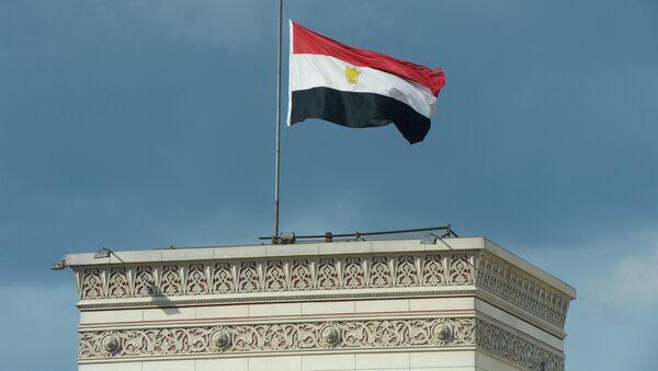 Государственный флаг Египта - Sputnik Беларусь