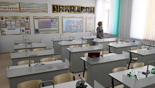 Кабинет химии в школе - Sputnik Беларусь