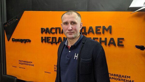 Директор детской академии Баскетбольная мечта Николай Фокеев - Sputnik Беларусь