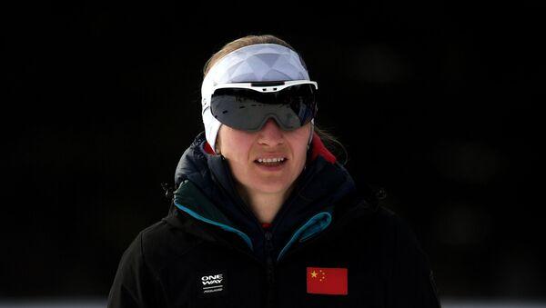 Тренер женской национальной сборной Китая по биатлону Дарья Домрачева - Sputnik Беларусь