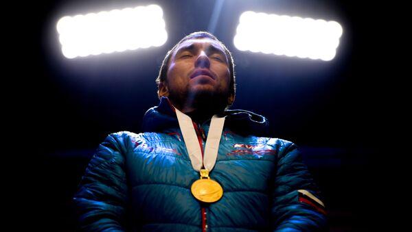 Российский биатлонист Александр Логинов - Sputnik Беларусь