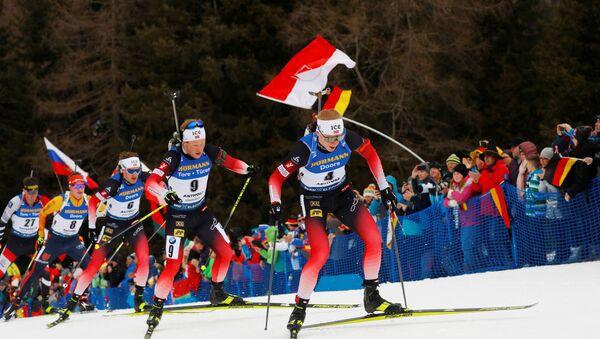 Йоханнес Бё выиграл мужской масс-старт в Антхольце - Sputnik Беларусь