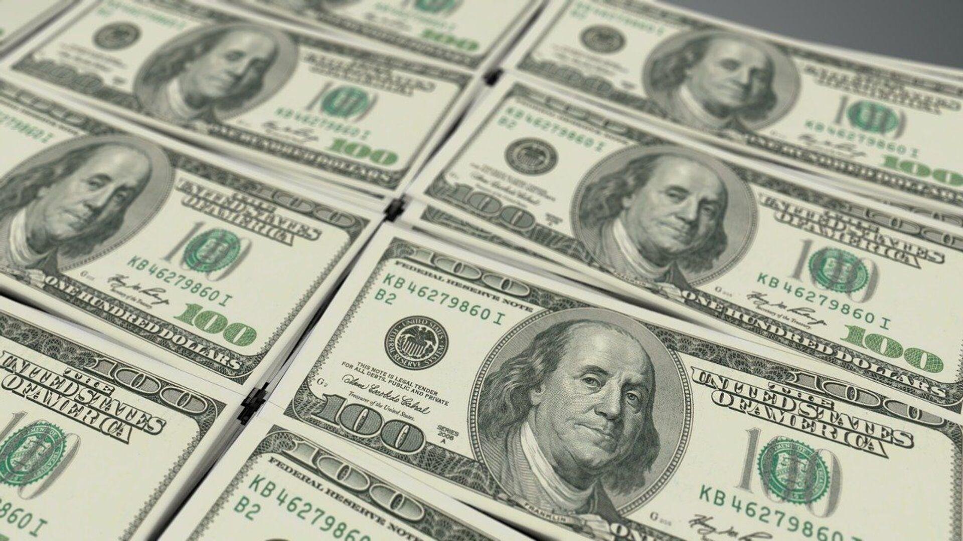 Доллары США - Sputnik Беларусь, 1920, 04.10.2021