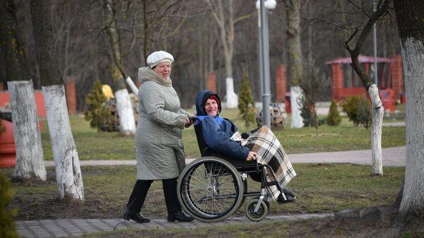 Минский дом-интернат для пенсионеров и инвалидов находится в Дражне, на Ваупшасова - Sputnik Беларусь