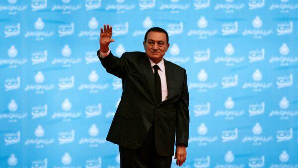 Экс-президент Египта Хосни Мубарак - Sputnik Беларусь