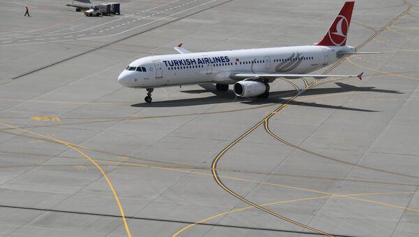 Cамолет Airbus A330 турецкой авиакомпании Turkish Airlines - Sputnik Беларусь