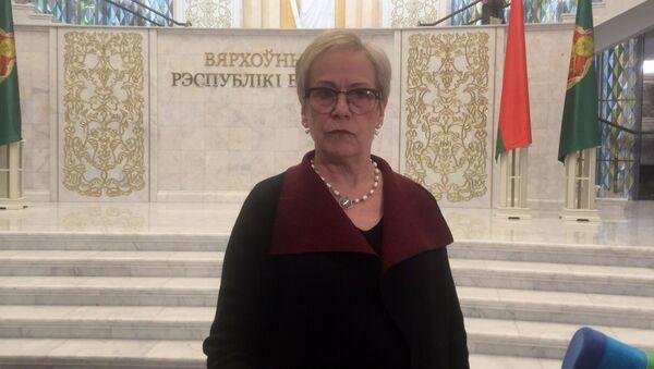 Директор БДИПЧ ОБСЕ Ингибьерг Сольрун Гисладоттир - Sputnik Беларусь