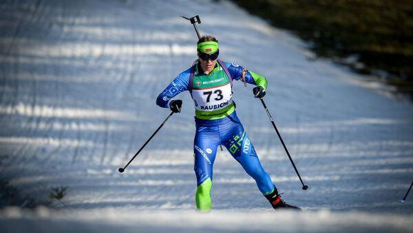 Белорусская биатлонистка Анна Сола - Sputnik Беларусь