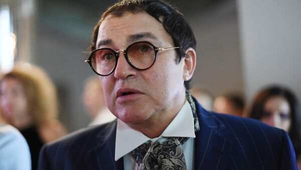 Телеведущий Дмитрий Дибров  - Sputnik Беларусь