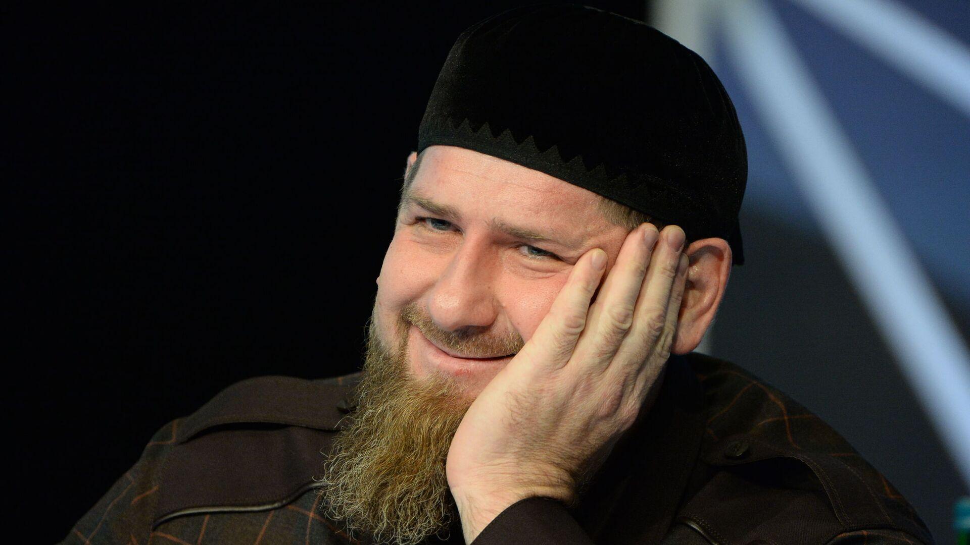 Глава Чеченской Республики Рамзан Кадыров - Sputnik Беларусь, 1920, 21.09.2021