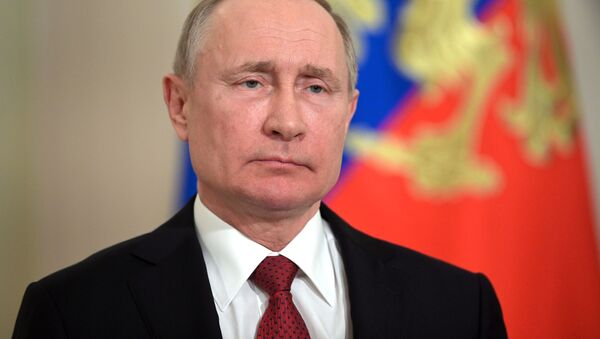 Уладзімір Пуцін - Sputnik Беларусь
