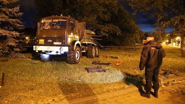 Последствия взрыва салюта 3 июля в Минске - Sputnik Беларусь