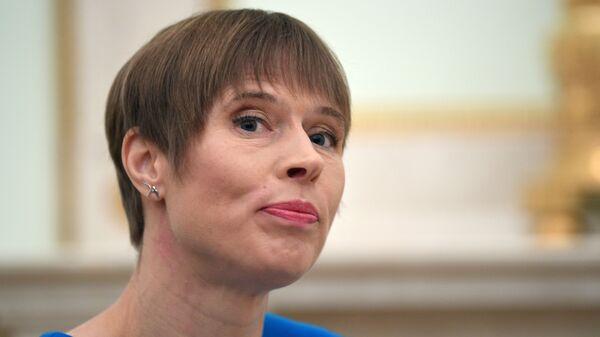 Президент Эстонии Керсти Кальюлайд  - Sputnik Беларусь