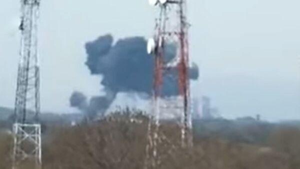 Военный истребитель F-16 разбился в Пакистане - Sputnik Беларусь