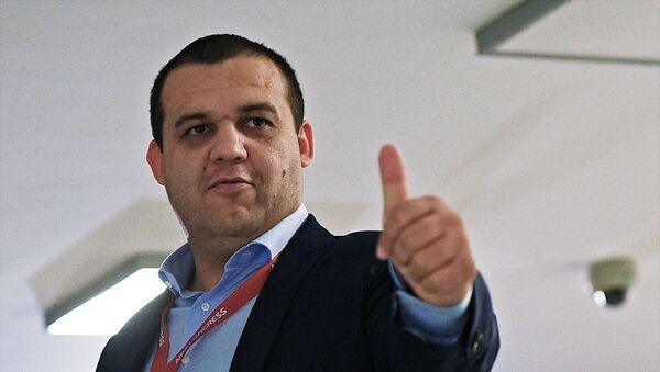 Генеральный секретарь Федерации бокса России Умар Кремлев  - Sputnik Беларусь