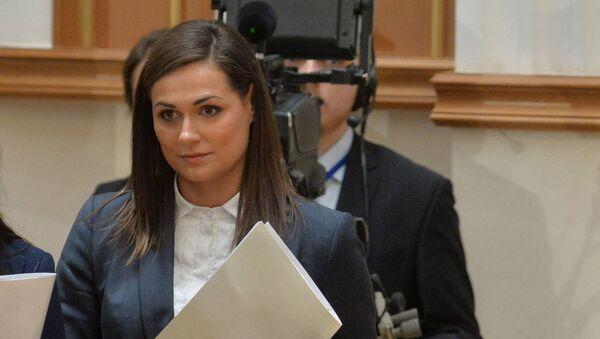 Пресс-секретарь президента Беларуси Наталья Эйсмонт - Sputnik Беларусь