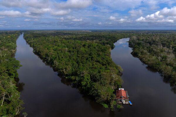 Рака Амазонка з'яўляецца самай паўнаводнай і самай доўгай ракой свету, яе даўжыня складае 6 992 кіламетры. Найвялікшая рака ў свеце пачынаецца ў Андах у Перу, а заканчваецца ў Атлантычным акіяне на тэрыторыі Бразіліі. Гэта велізарная сістэма рэк і лясоў з унікальнай флорай і фаунай, лёгкія планеты, метадычна знішчаецца агрэсіўнай высечкай і выпальваннем лясоў і па прагнозах вымрэ праз паўстагоддзя. - Sputnik Беларусь