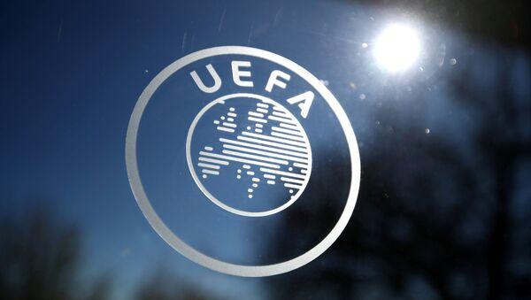 Лагатып УЕФА - Sputnik Беларусь