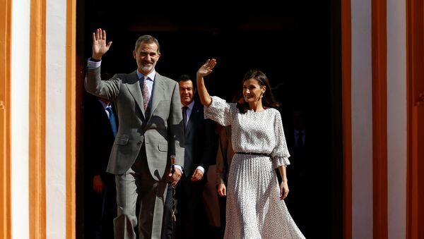 Король Фелипе и королева Летиция - Sputnik Беларусь
