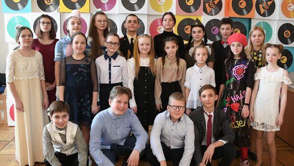 Удзельнікі конкурсу чытальнікаў - Sputnik Беларусь