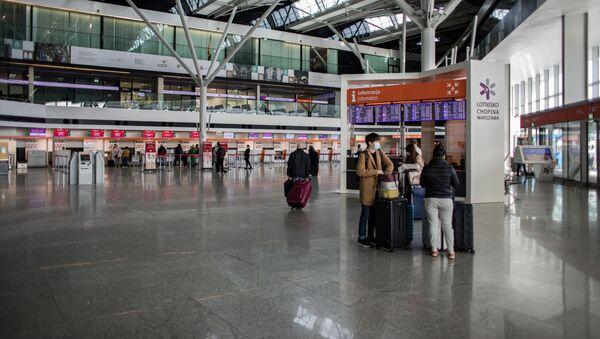 Аэрапорт у Варшаве - Sputnik Беларусь