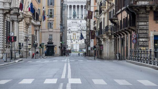 Пустые улицы в Италии - Sputnik Беларусь