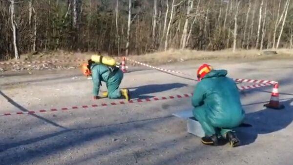 Больше килограмма ртути спасатели собрали в витебском парке – видео - Sputnik Беларусь