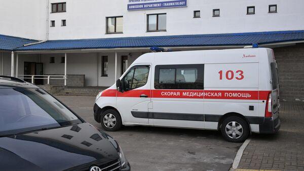 Скорая помощь, приемное отделение, центр травматологии - Sputnik Беларусь