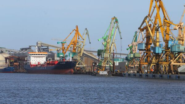 Марскі порт у Клайпедзе, архіўнае фота - Sputnik Беларусь