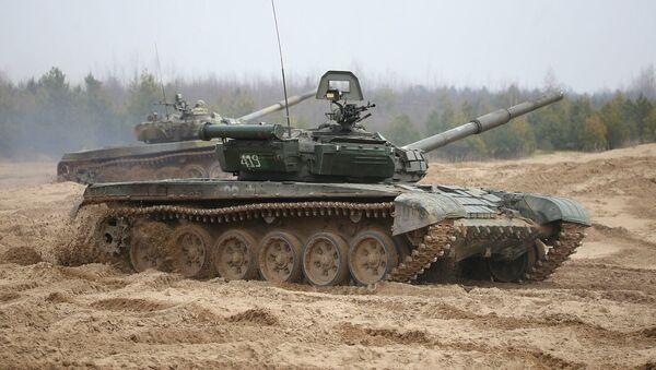Спаборніцтва на лепшы мотастралковы і танкавы ўзвод праходзіць у Гродне - Sputnik Беларусь