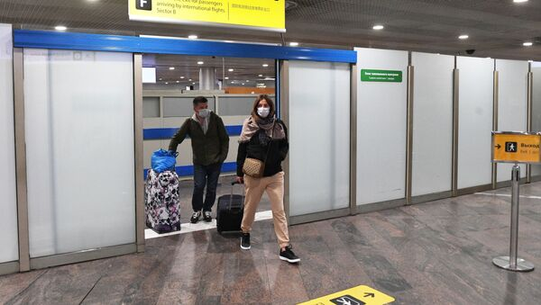 Прилет туристов в Москву - Sputnik Беларусь