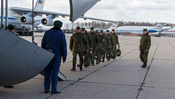 Самалёты ВКС Расіі даставілі ў Італію спецыялістаў для барацьбы з COVID-19 - Sputnik Беларусь