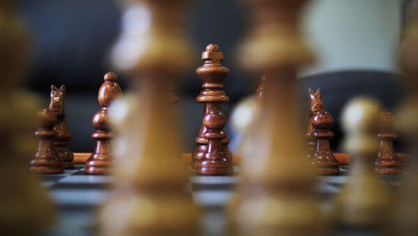 Шахматные фигуры, архивное фото - Sputnik Беларусь