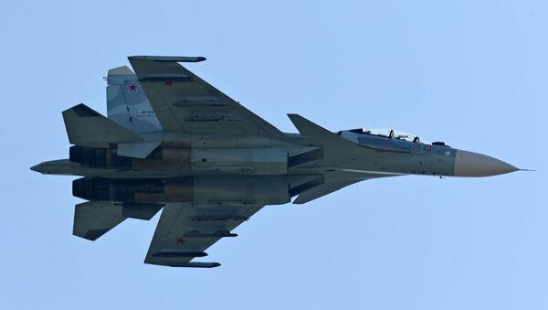 Самолет Су-27 - Sputnik Беларусь