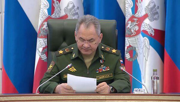 Шайгу распавёў, для чаго патрэбна антывірусная праверка арміі - відэа - Sputnik Беларусь