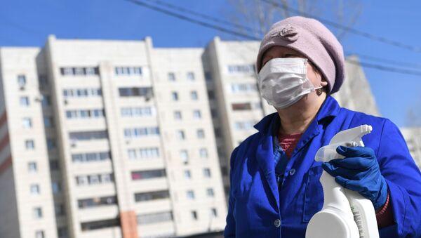 Дезинфекция жилого многоквартирного дома - Sputnik Беларусь