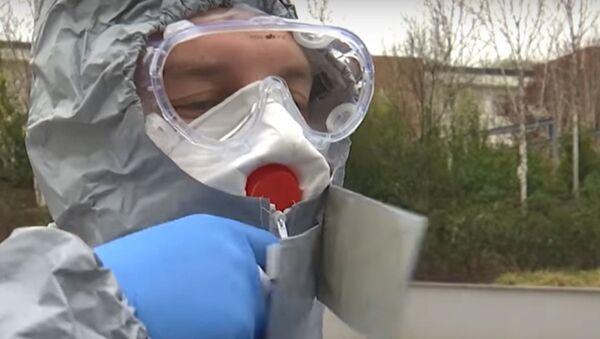 Як расійскія ваенныя медыкі працуюць у Бергама, ахопленым каронавірусам - Sputnik Беларусь