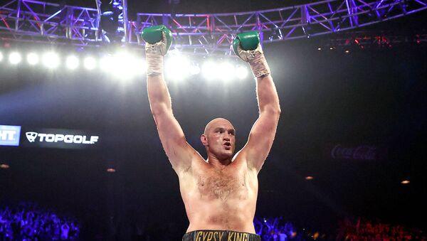Британский боксер Тайсон Фьюри - Sputnik Беларусь