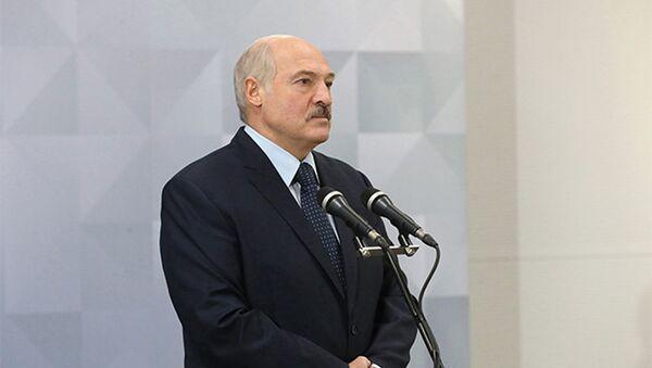 Прэзідэнт рэспублікі Аляксандр Лукашэнка - Sputnik Беларусь