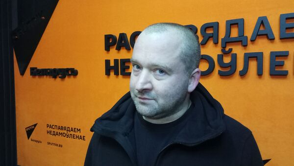 Фронтмен Drum Extasy Филипп Чмырь - Sputnik Беларусь