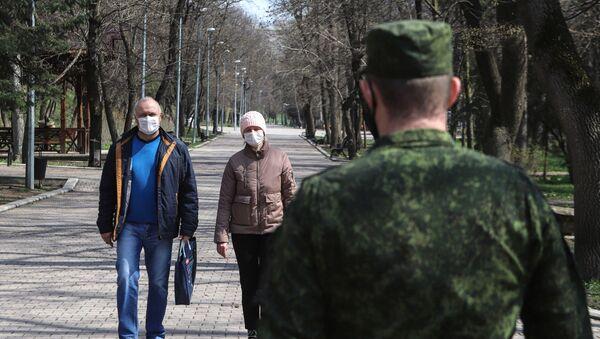 На Ставрополье казаки следят за соблюдением домашнего режима - Sputnik Беларусь