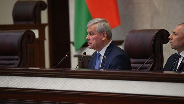 Председатель Палаты представителей Национального собрания Владимир Андрейченко - Sputnik Беларусь