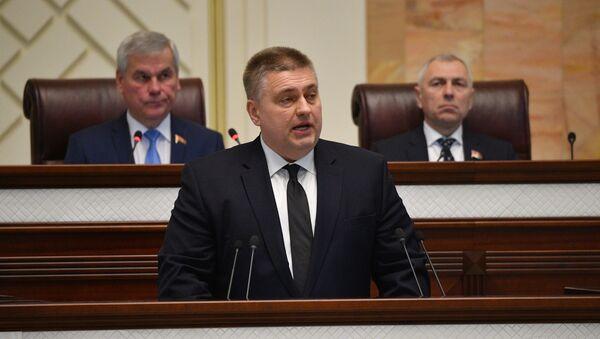 Заместитель министра иностранных дел Олег Кравченко в Овальном зале - Sputnik Беларусь
