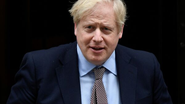 Премьер-министр Великобритании Борис Джонсон - Sputnik Беларусь