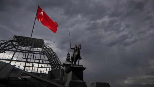 Падняцца на Рэйхстаг: цяпер кожны можа стаць сцяганосцам – віртуальна - Sputnik Беларусь