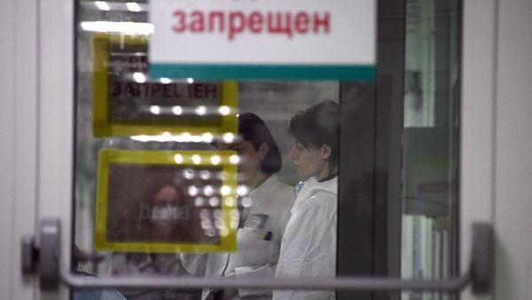 Больніца зачыненая на каранцін, архіўнае фота - Sputnik Беларусь