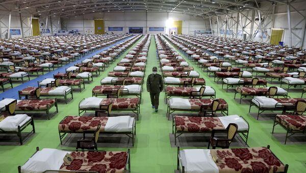 Госпиталь для больных коронавирусом - Sputnik Беларусь
