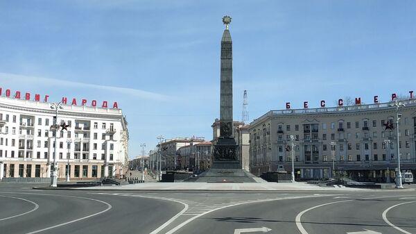 Обновленная площадь Победы в Минске - Sputnik Беларусь